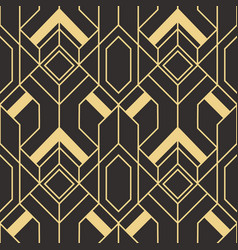abstract art deco pattern02 vector image