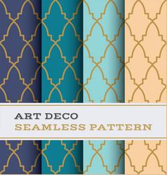 Art deco seamless pattern 37 vector