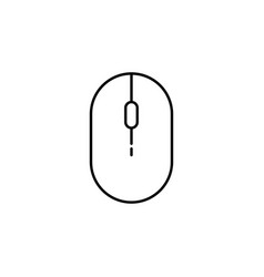 computer mouse in mouse icon vector image