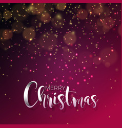 on a christmas theme with vector image