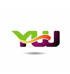 YU Logo vector image