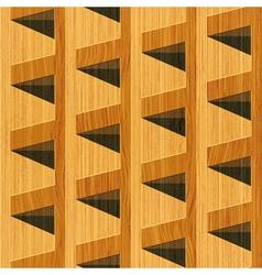 Wooden blocks vector