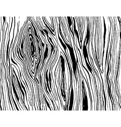 Handdrawnn grungy wooden texture Black and white vector image vector image