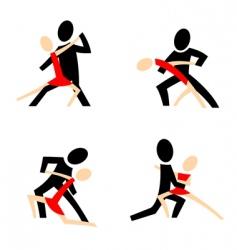 tango picks vector image
