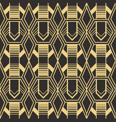abstract art deco pattern03 vector image
