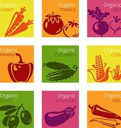 OrganicVeg vector image