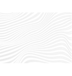 Abstract grey curved waves refraction vector