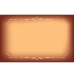 background with elegant frame vector image