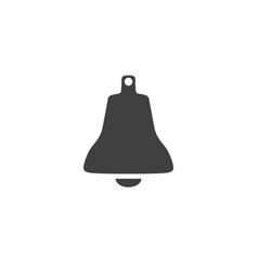 Bell icon isolated on white background vector