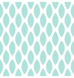 Blue drops seamless geometric pattern vector