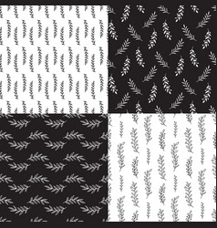 branches seamless pattern texture vector image