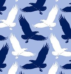 Eagle background vector
