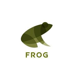 Frog effect overlay modern vector