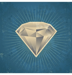 Retro Diamond vector