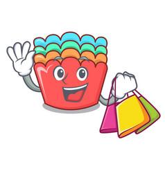 Shopping baking molds character cartoon vector