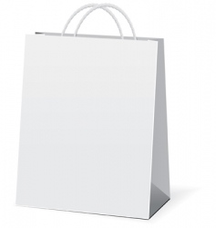 shopping paper bags vector image