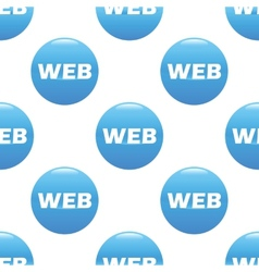 WEB sign pattern vector image
