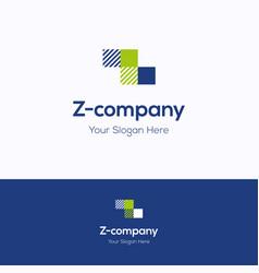 z company logo vector image