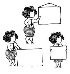 alice presentation vector image