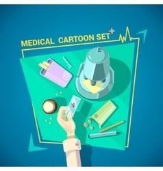 Doctor Design Set vector image