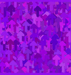 seamless abstract random arrow pattern background vector image