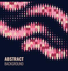 absract halftone geometric background vector image vector image