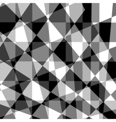 Black grey white abstract geometric background vector