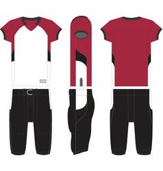 Blitz american football jersey vector