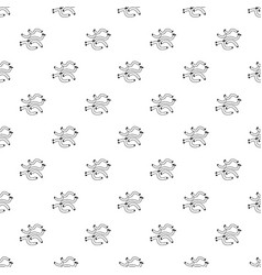 escherichia coli virus pattern seamless vector image