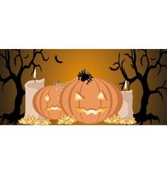 halloween background image vector image