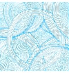 Hand-drawn circles Abstract design vector image