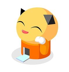 icon animal building vector image