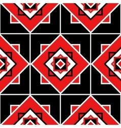 Seamless geometric pattern texture vector image