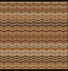 seamless pattern with colorful waves vector image