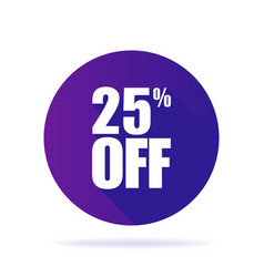 special offer sale ultraviolet tag isolated vector image