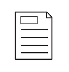 clipboard icon on white background clipboard vector image vector image