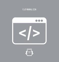 application for editing digital code vector image