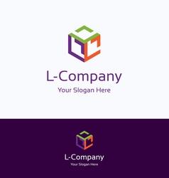L company logo vector