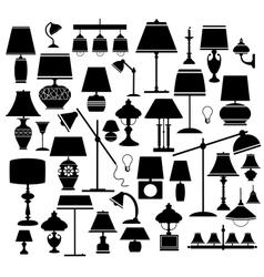 Lanps vector image