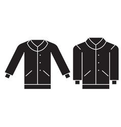 men pullover black concept icon men vector image