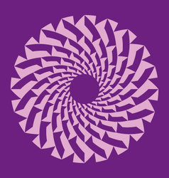 pattern circle vector image