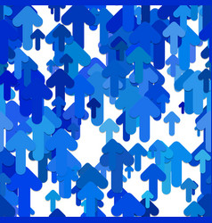 seamless abstract arrow background pattern vector image