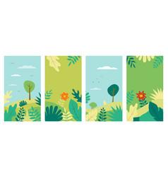 spring background spring landscape for vector image