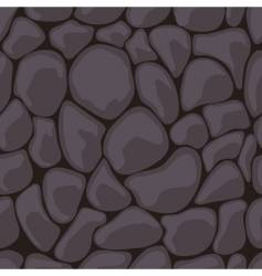 dark stone seamless vector image