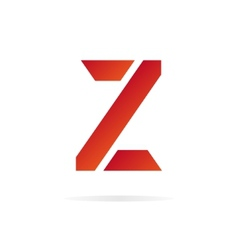 Logo Z letter for company design template vector image