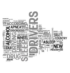 A new take on dui text word cloud concept vector