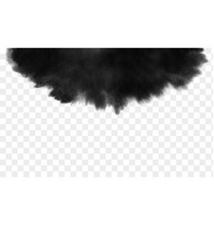 Black ink wash detailed grunge splash vector