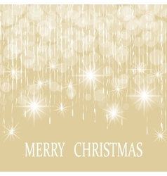 Christmas New Year s holiday card vector image