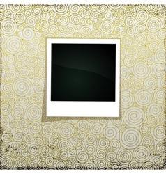 Golden Grunge Banner vector