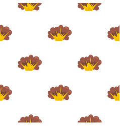 High powered explosion pattern seamless vector